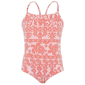 Image of Vilebrequin Coral Turtle Print Swimsuit 2 years (2996514861)