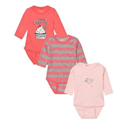 Me Too Kani 223 3-Pack Baby Body Crystal Rose