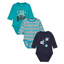 Me Too Kani 224 3-Pack Baby Body Caribbean Sea
