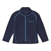 Didriksons Monte Kids Fleece Jacket Navy Navy