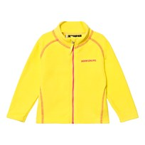 Didriksons Monte Kids Fleece Jacket Gorse Yellow Gorse yell