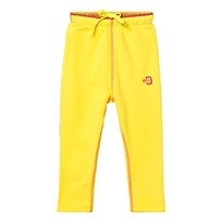 Didriksons Monte Kids Fleece Pants Gorse Yellow Gorse yell
