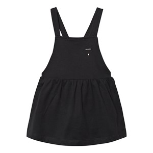 Image of Gray Label Pinafore Dress Nearly Black 2-3 år (3125336803)