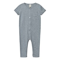 Gray Label Playsuit Grey Melange Grey Melange