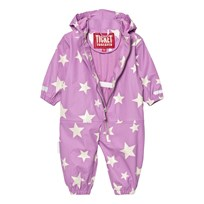 Ticket to heaven Rain Suit Kody Authentic Rubber Allover Violet Rose Violet Rose