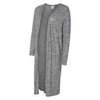 Mamalicious Jersey Long Cardigan Light Grey Melange Light Grey Melange