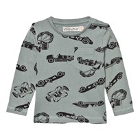 Minymo Jake 33 T-shirt With Cars Lead Lead