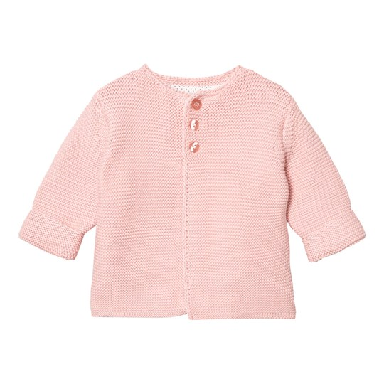 The Little Tailor Pale Pink Classic Knit Cardigan Pink