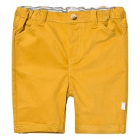 The Little Tailor Mustard Chino Shorts Yellow