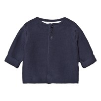 The Little Tailor Navy Classic Knit Cardigan Marinblå