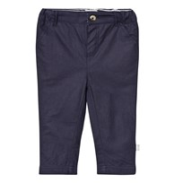 The Little Tailor Navy Chino Shorts Marinblå