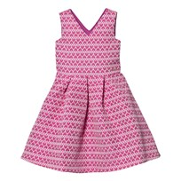 Guess Pink Heart Jacquard Dress A415