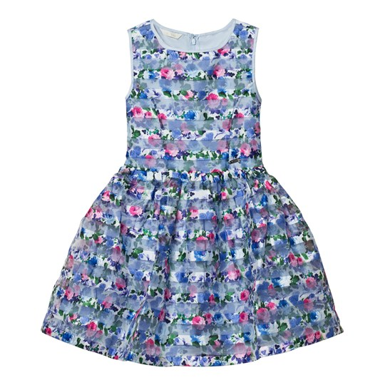 Guess Blue Floral Stripe Dress P718
