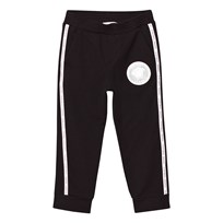 Young Versace Black Sweat Pants with Branded Trim 2838