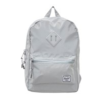 Herschel Silver Heritage Youth Silver Reflective Rubber