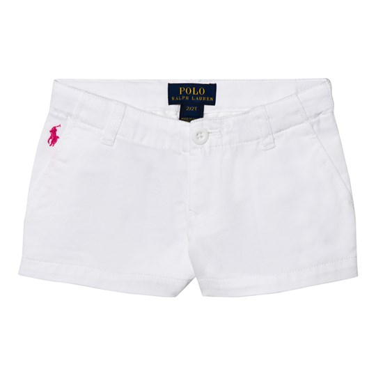 Ralph Lauren White Chino Shorts 003