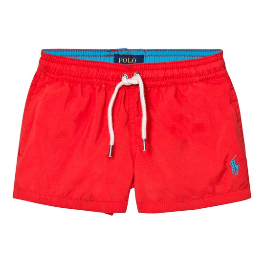 Ralph Lauren Red Classic Swim Shorts 007