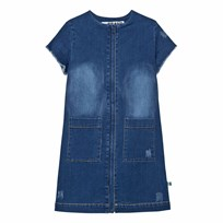The BRAND Denim Dress Stonewashed Blue Stonewashed Blue