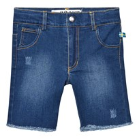 The BRAND Raw Shorts Stonewashed Blue Stonewashed Blue