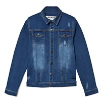 The BRAND Denim Jacket Stonewashed Blue Stonewashed Blue