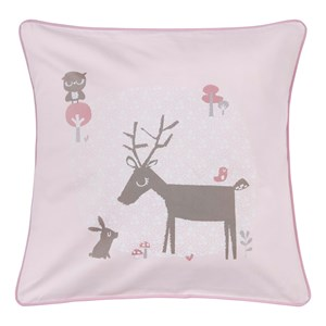 Image of Vinter & Bloom Forest Friends Cushion Cover Blossom (2743724113)