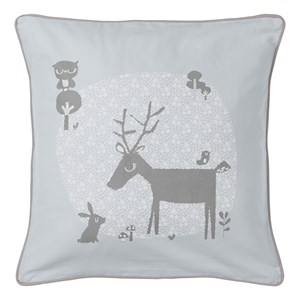 Image of Vinter & Bloom Forest Friends Cushion Cover Bluebell (3017743605)