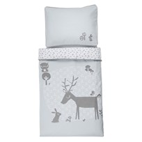 Vinter & Bloom Forest Friends Bedset Bassinet Bluebell Bluebell