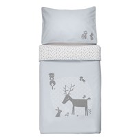 Vinter & Bloom Forest Friends Bedset Cot Bluebell Bluebell