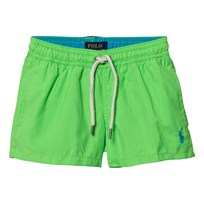 Ralph Lauren Lime Classic Swim Shorts 6MW