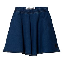 The BRAND Maxi Skirt Stonewashed Blue Stonewashed Blue