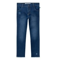 The BRAND Skinny Denims Stonewashed Blue Stonewashed Blue