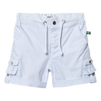 The BRAND Khaki Shorts Thin Blue Stripe Classic Thin Blue Stripe Classic