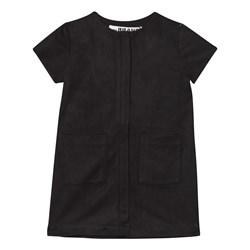The BRAND Denim Dress Black Suede