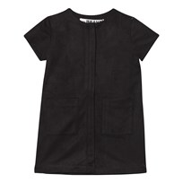 The BRAND Denim Dress Black Suede Black Suede