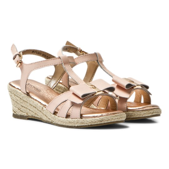 666a3d5cd76 Michael Kors - Pink Zia Cate Alexa Wedge Sandals - Babyshop.com