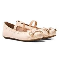 Michael Kors Pink Zia Rover Cari Infants Ballet Pumps Pink
