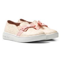Michael Kors Pink Zia Ivy Bawi Infants Slip Ons Pink