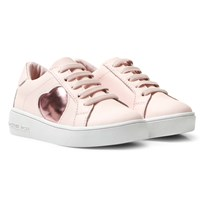 Michael Kors Pink Zia Ivy Heart Infants Trainers Pink