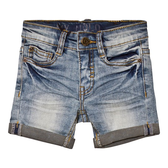 Molo Aslak Shorts Worn Denim Worn Denim