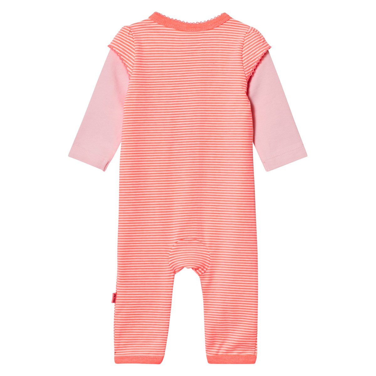 Me Too Kin 261 Baby One Piece Bright Coral Babyshop Com
