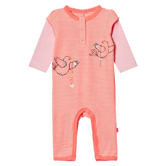 Me Too - Kin 261 Baby One-Piece Bright Coral - Babyshop.com ce389f26b4