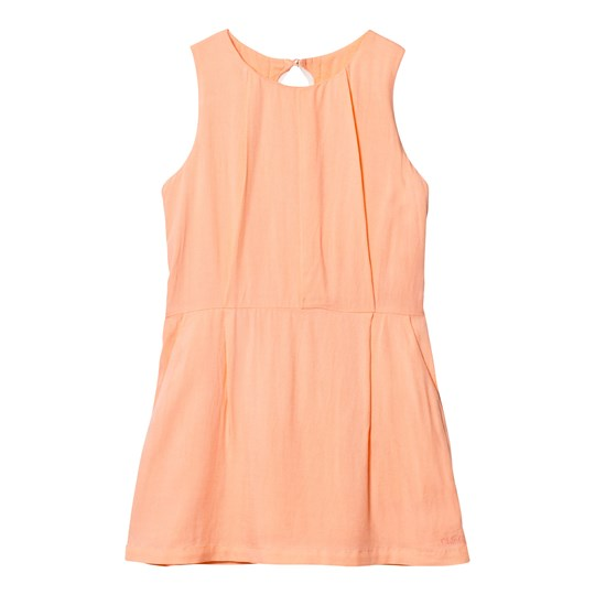Chloé Pale Pink Woven Dress with Ric Rac Detail 424