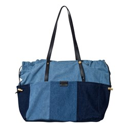 Chloé Blue Denim Patchwork Changing Bag