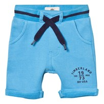 Timberland Pacific Blue Branded Sweat Shorts 838