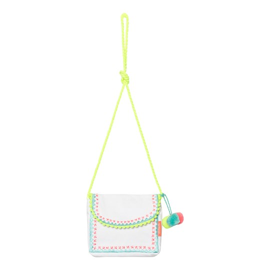 Sunuva Pompom Hippy Bag White