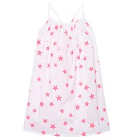 Sunuva White and Pink Pop Star Strappy Dress White/Pink