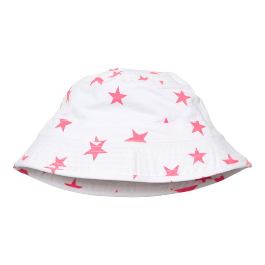 Sunuva White and Pink Pop Star Canvas Hat White/Pink