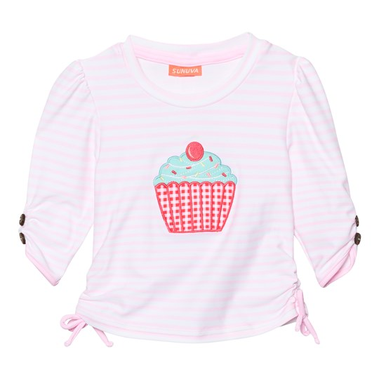 Sunuva Infants Pink Mini Cupcake Rash Vest Pink