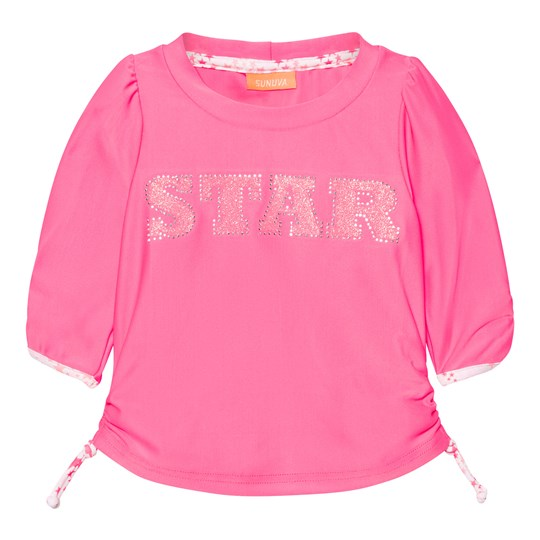 Sunuva Infants Pink Pop Star Rash Vest Pink