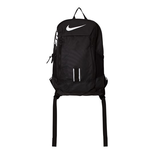 NIKE Alpha Adapt Rise Solid Kids' Backpack Black BLACK/BLACK/WHITE